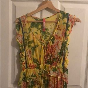 Anthropologie Maxi Dress size Small